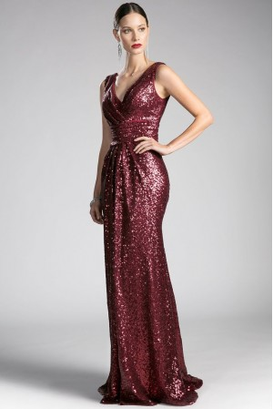 Rochie 00013-burgundy